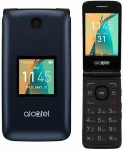 Alcatel Go Flip ( 4044N ) - GSM Unlocked!  4G LTE Basic Camera Phone - Brand New
