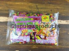 MEXICAN CANDY DULCES 100 SOFT CHEWY SWEET & SOUR CANDY CHILI DE LA ROSA