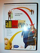 All About Eve Dvd 2-Disc Set classic drama movie Bette Davis Cinema Classics!