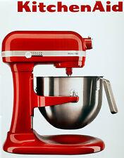 KitchenAid Teig-Knet-Küchenmaschine 5KSM7591XEER Heavy Duty 6,9 L,500 Watt,Rot