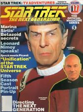 STAR TREK:THE NEXT GENERATION OFFICIAL MAGAZINE SEASON 91, 92  SERIES VOLUME #17