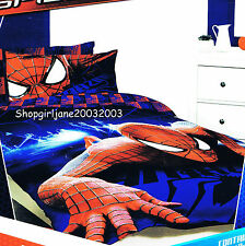 Spiderman Marvel ❅ Wall Crawler❅ Double/US Full Bed Quilt Doona Duvet Cover Set❅