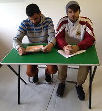 Classroom Rectangular Folding stacking exam school training centre table desk GR