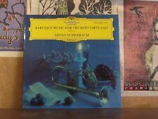 BAROQUE MUSIC TRUMPET VOL 2, SCHERBAUM - DGG LP 136 518