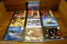 LOT of 10 Christmas CDs by Various Artists (CD) Coming Home for Christmas & More