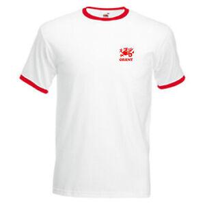 Leyton Orient FC Retro Style Adult Football Team White T-Shirt  - All Sizes