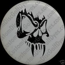 Disc Golf Custom Dye Stencil - Skull 3 (2 Pack)