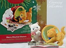2005 Carlton Cards Merry Mischief Makers Cats Heirloom Ornament 10th in Series