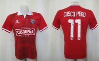 5+/5 Cienciano #11 Home Size M Walon football shirt maillot jersey Cusco Peru