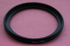 67mm-77mm 77-67mm Male to Male Double Coupling Ring reverse macro Adapter 77-67