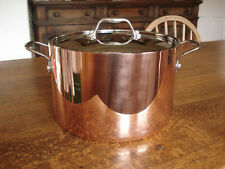 Stellar Lamina Tri-Ply Copper Stockpot with Lid - 24 cm