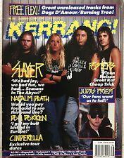 KERRANG U.K. Metal Magazine #308 Sept.1990 Slayer Nelson Vixen Great Kat