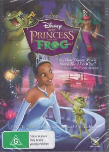 THE PRINCESS AND THE FROG - A Disney Animated R4 DVD NEW & SEALED Free Post