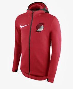 $150 NWT NIKE NBA PORTLAND TRAILBLAZERS SHOWTIME THERMAFLEX RED JACKET MENS 2XL