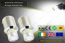 LED SMD BA15S P21W 1156 382 Xenon White Interior Dome Side Light Bulbs 12v 24v