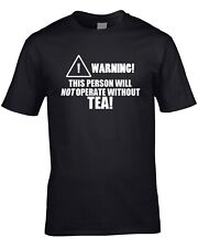 Tea Mens T-Shirt Funny Hobby Statement Gift Drink Teabag Morning Drink Cool