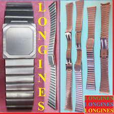 nos cinturino longines 18 strap band steel watch Bracelet Clasp Buckle original