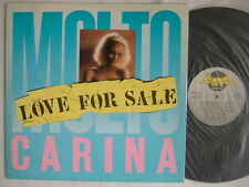 "MOLTOCARINA LOVE FOR SALE / 12"" ITALO"