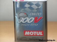 13,95€/l Motul 300V High RPM  0W-20  2 Ltr