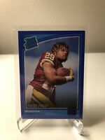2018 Donruss Press Proof Blue #307 Derrius Guice Redskins Rated Rookie NM-MT