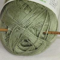 1Skein X 50g Baby Natural Smooth Soft Bamboo Cotton Knitting Yarn Knitwear 20