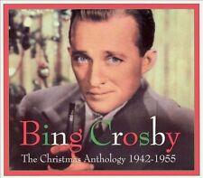 FREE US SHIP. on ANY 2 CDs! ~LikeNew CD Bing Crosby: Christmas Anthology