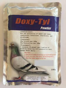 Doxy-Tyl Powder for Birds 100g