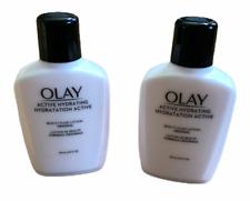 (2) Olay Hydration Active Beauty Fluid Lotion Original  4 oz -48 Hr Hydration