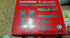 Set binari per plastico Fleischmann scala N Piccolo
