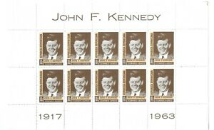 L8497 DOMINICAN REPUBLIC JOHN F. KENNEDY 1963 SOUVENIR SHEET
