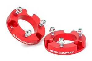 """2"""" Strut Spacers, Fits 2005-2018 Toyota Tacoma  (Fits 4wd and 2wd 6-lug models)"""