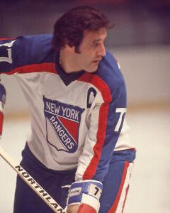 1977 New York Rangers PHIL ESPOSITO Glossy 8x10 Hockey Photo Print Poster HOF 84