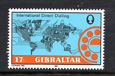 Gibraltar 1982 International Direct Dialling SG 484 unmounted mint