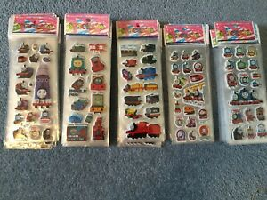 Thomas  stickers party supplies loot bags buy 5 get 5 free NEW birthdays