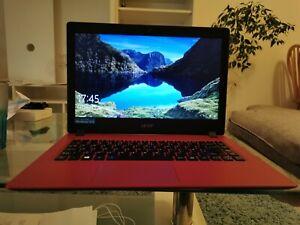 Acer Aspire 1 A114-31-C1EZ 14-Inch Notebook - (Oxidant Red) (Intel Celeron N3350