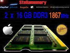 "5K Late 2015 27"" iMac 32GB Memory 2 x 16GB DDR3 1867 MHz Ram PC3L-14900 iMac17,1"