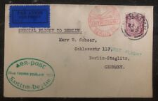 1932 Galway Ireland Flight Special Cover To Berlin Germany