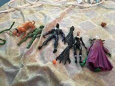 Spider-Man 3 Action Figure Lot Set Of Six (2007) Used