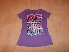 NEW, GIRLS MONSTER HIGH BE UNIQUE SHORT SLEEVE T-SHIRT, SIZE S 6/6X