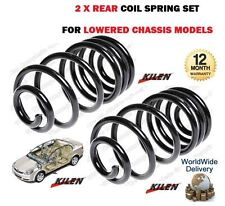 FOR VAUXHALL VECTRA C SALOON HATCH 2002-2008 2x REAR COIL SPRINGS LOWERED CHASSI