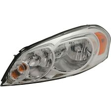 Headlight For 2006 2013 Chevrolet Impala 2006 2007 Monte Carlo Driver With Bulb Fits 2006 Impala
