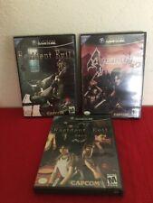 Resident Evil + Zero 0 + 4 (Nintendo GameCube) Complete Black Labels 6 Discs