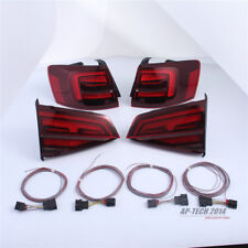 For VW Jetta MK6 LED Tail Light Lamp Taillights W/Cable Dark