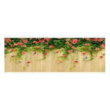 Non-skid Floor Mat 3D Flower Vines Area Rugs Carpet for Bedroom Living Room