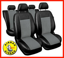 Leatherette full set of CAR SEAT COVERS fit Peugeot 206 - universal