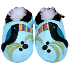 Littleoneshoes SoftSole Leather Baby Infant Kid Children HornbillBlue Shoes 0-6M