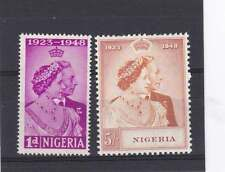 Royalty George VI (1936-1952) Nigeria Stamps (Pre-1960)