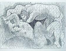 PABLO PICASSO - SUITE VOLLARD - Ed. Hatje 1956.  COA