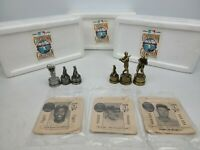 1994 SPORTING NEWS PEWTER FIGURE CHESS PIECES WILLIAMS COBB ROBINSON YANKEES