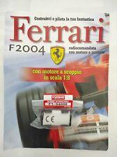 Ferrari Formula 1 F2004 De Agostini Kyosho a Scoppio Ricambio N°08 04008 Nuovo